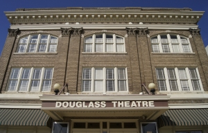 Douglass Theatre exterior